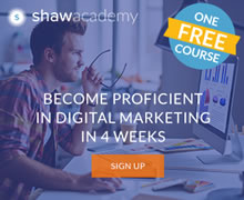 Shaw Acadamy Free online course